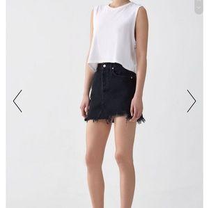 AGOLDE Mini Skirt